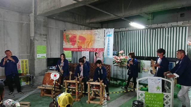 祗園祭の太鼓組