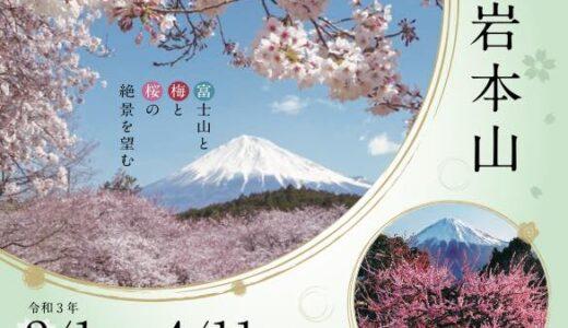 【イベント】まるごと岩本山2021(2/1〜4/11)
